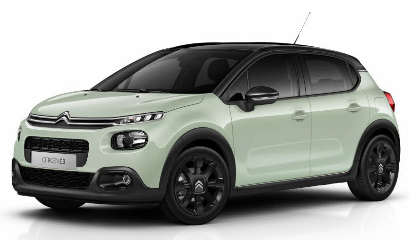 citroen c3 5dr hat 1 6 bluehdi 100 feel st sp contract hire and leasing. Black Bedroom Furniture Sets. Home Design Ideas